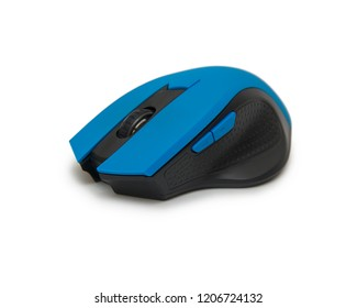 Computer mouse isolated on the white background