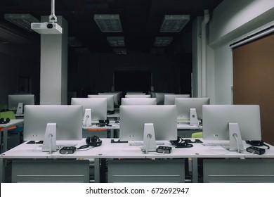 Computer Room Images, Stock Photos & Vectors   Shutterstock