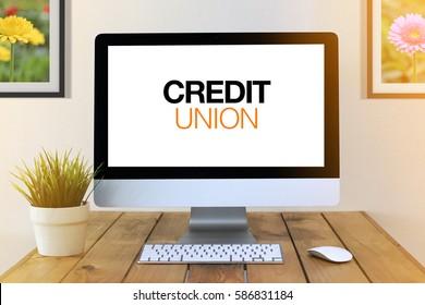 COMPUTER SCREEN CONCEPT : Credit Union