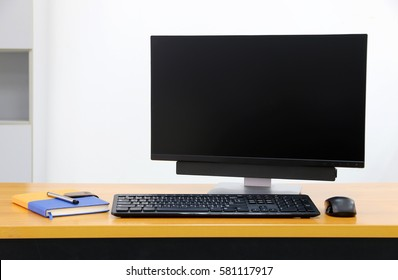 computer screen PC. for business on the table