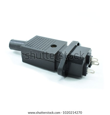 Computer SMPS Connector 3 Pin Socket Stock Photo (Edit Now ...