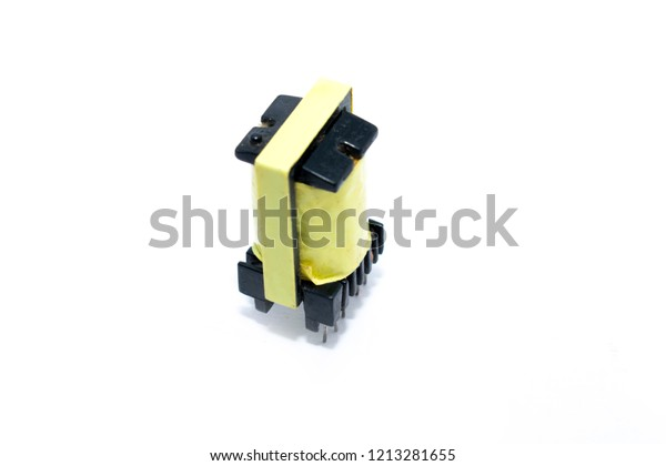 Computer Smps Power Supply Transformer Stock Photo (Edit Now