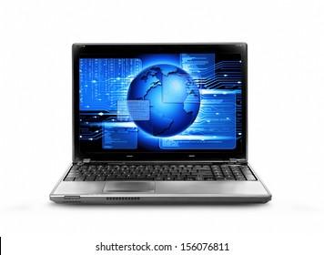 computer software running,computer code