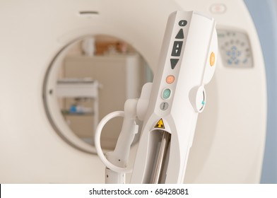 computer tomography diagnostics in medical center