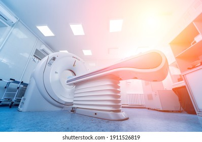 Computer tomography diagnostics in modern medical center - Shutterstock ID 1911526819