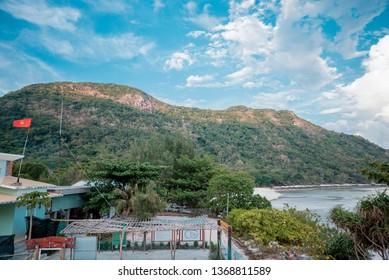 Con Dao,  VIETNAM - FEB 22, 2019: beautiful landscape at Con Dao island, Vietnam