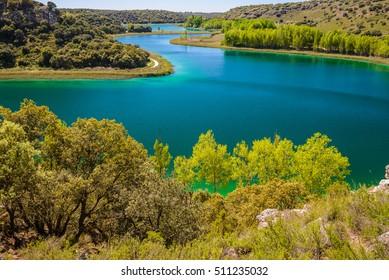 Conceja lagoon, Ruidera Natural Park, Castilla La Mancha (Spain)