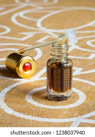 Concentrated perfume, Arabian attar in a mini bottle