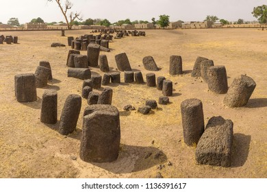 Concentric Senegambian Stone Circle at Sine Ngayene