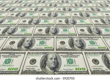 the concept background from US dollars banknotes