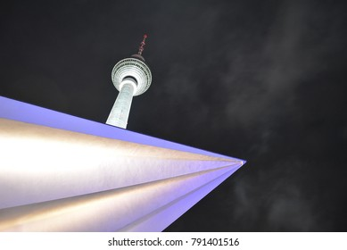 Concept - The Berlin Tower at Night