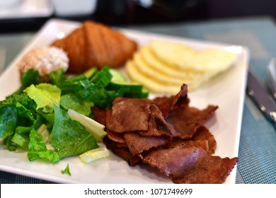 concept of breakfast for All Inclusive program at resort