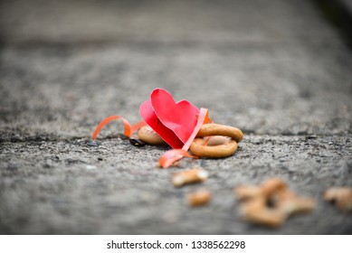 The concept of a broken heart, divorce in the family and other ideas.