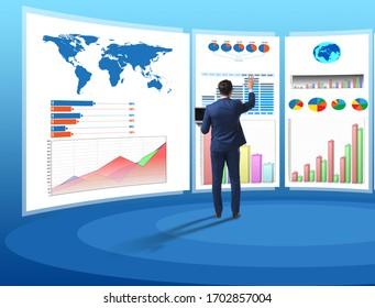 Concepto de organigramas y visualización de las finanzas