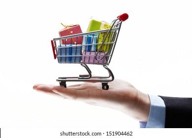 concept of buy shopping cart