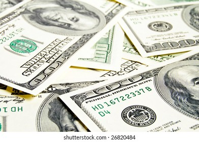 concept close-up money dollars background
