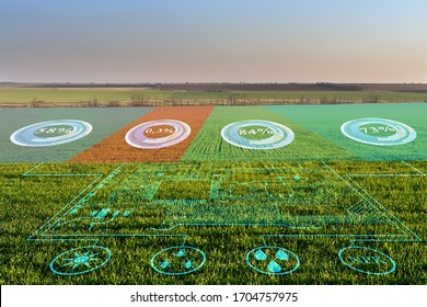 The concept of collecting data on humidity, temperature, illumination of acidity, fertilizers and pests without human intervention, the transmission of the obtained data and their analysis to increase