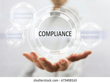 Concept For Compliance On Virtual Screen