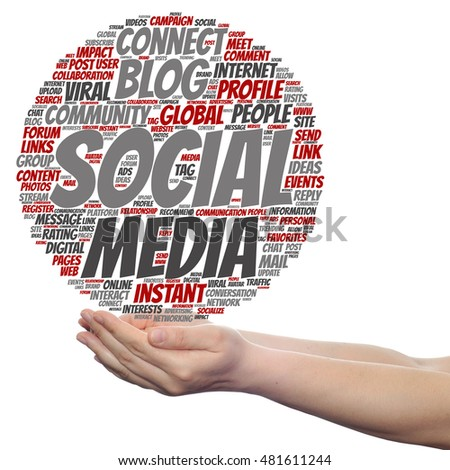 Concept Conceptual Social Media Marketing Communication