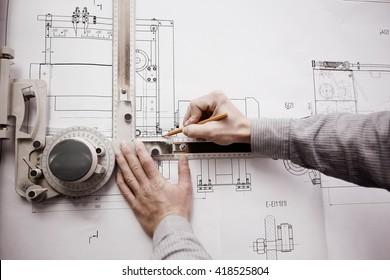 concept designer drawing engineer
