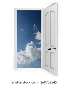 Concept for door to freedom or opportunity