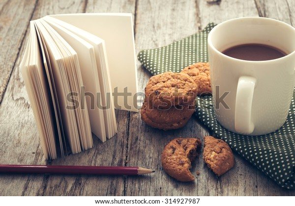 concept of education with breakfast
