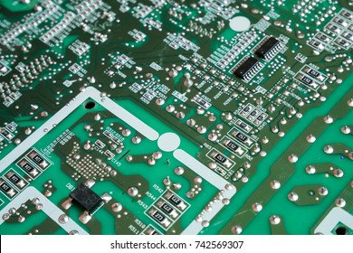 The concept of electronic board design of the design engineer.