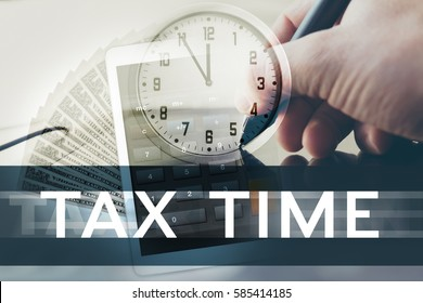 Concept of ending time for tax settlements.