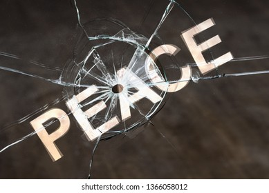 The concept of a fragile peace, disturbing the peace and civil commotion. Danger of hostility and war