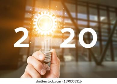 Concept of idea and innovation Creative idea concept - Shutterstock ID 1590303316