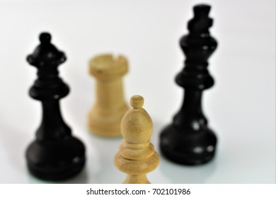 An concept image of chess figures
