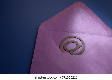 concept image of the email