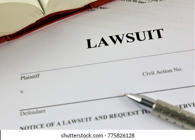 An concept Image of a lawsuit
