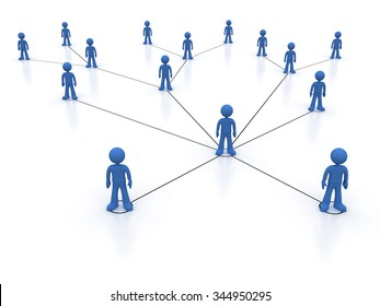 Concept image representing network, networking, connection, social networks, communications