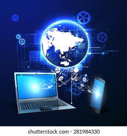 concept of Internet technology
