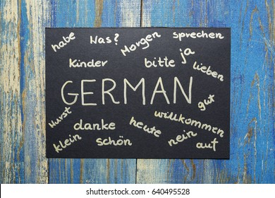 concept of learning german language