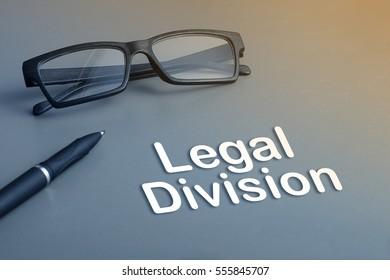 Concept : Legal Division