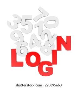 concept LOGIN