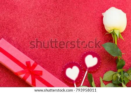 Concept Love Wedding Anniversary Birthday Gift Stock Photo Edit Now