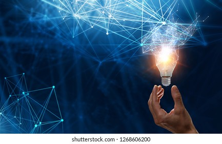 Concept of new ideas and innovation