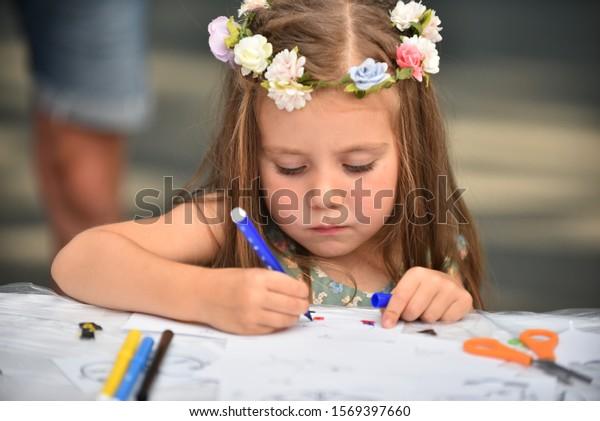 concept-preparing-children-school-little