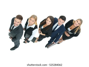 concept of a professional business team as the key to success in