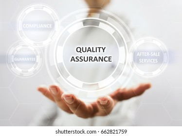 Concept For Quality Assurance On Virtual Screen