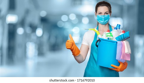 The concept of the quality of disinfection and cleaning.