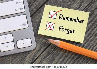 concept of remember