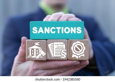 Concepto de sanciones. Relaciones económicas y políticas internacionales. Sanción.