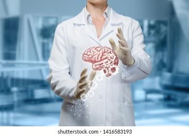Brain Doctor Images, Stock Photos & Vectors | Shutterstock