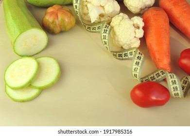 Concept with vegetables.Healthy food and healthy vegetables with place for your text.