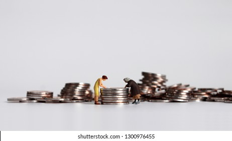 A concept for women workers working at a small salary.