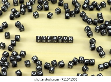 The concept of the word treason
